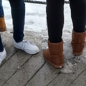 Ugg Boots and Plimsoles